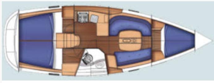Oceanis 34 Plan