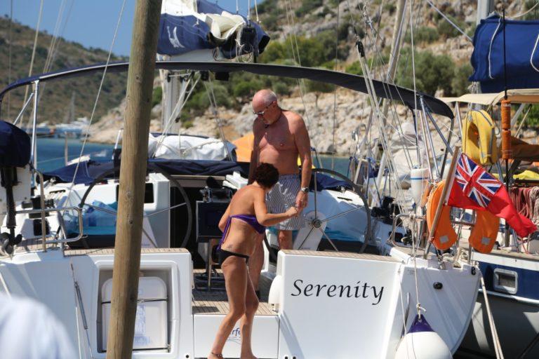 Perfect-Sailing-Serenity-Hanse-415-moored-Serce-Limani