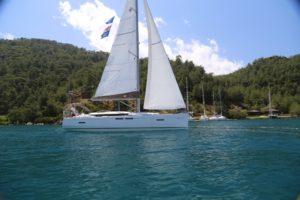 Jeanneau-415-sailing