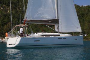Jeanneau-419-sailing