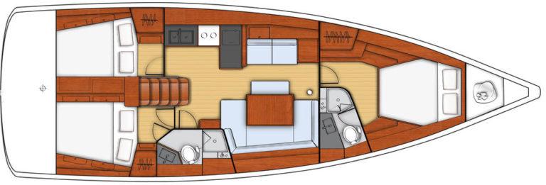 Oceanis-45-plan