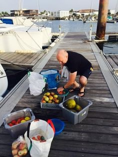 charter yacht provisioning