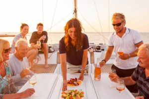sailing yacht hostess