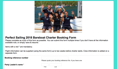 Perfect-Sailing-Charter-booking-form